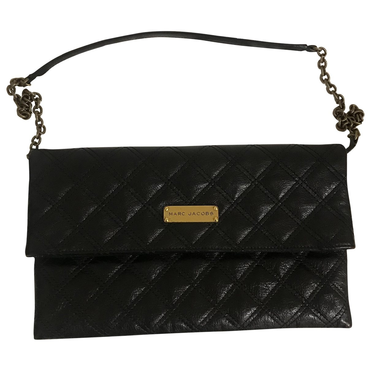 Marc Jacobs Single Black Leather Clutch bag for Women \N
