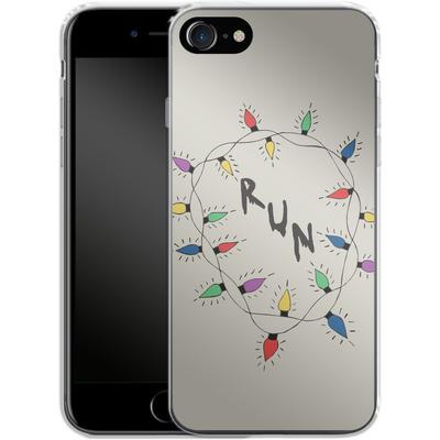 Apple iPhone 7 Silikon Handyhuelle - RUN von caseable Designs
