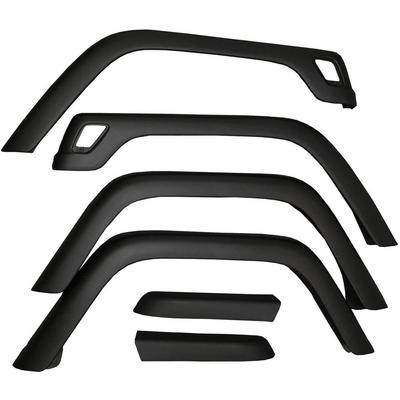 Omix-ADA 6 Piece Fender Flare Kit (Paintable) - 11603.01