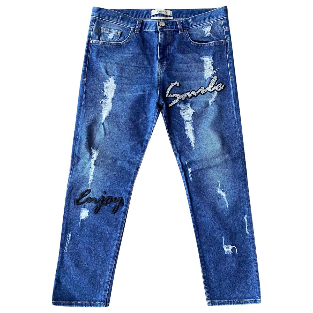 Pinko \N Blue Denim - Jeans Jeans for Women 28 US