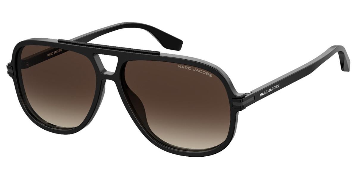 Marc Jacobs MARC 468/S 807/HA Men's Sunglasses Black Size 59
