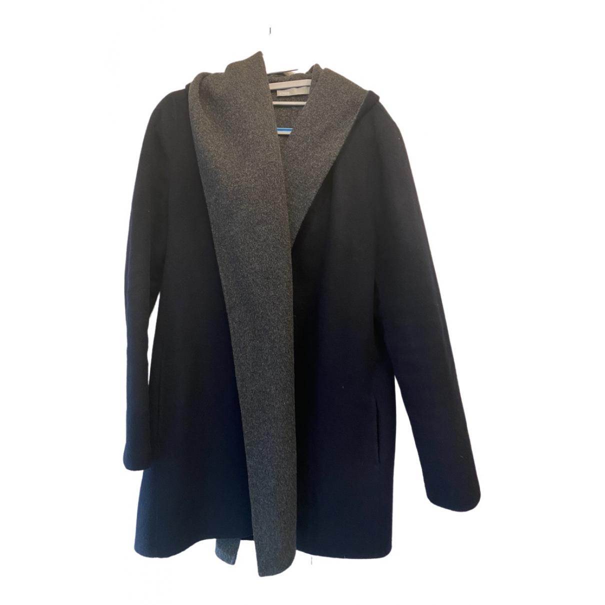 Vince \N Blue Wool coat for Women M International