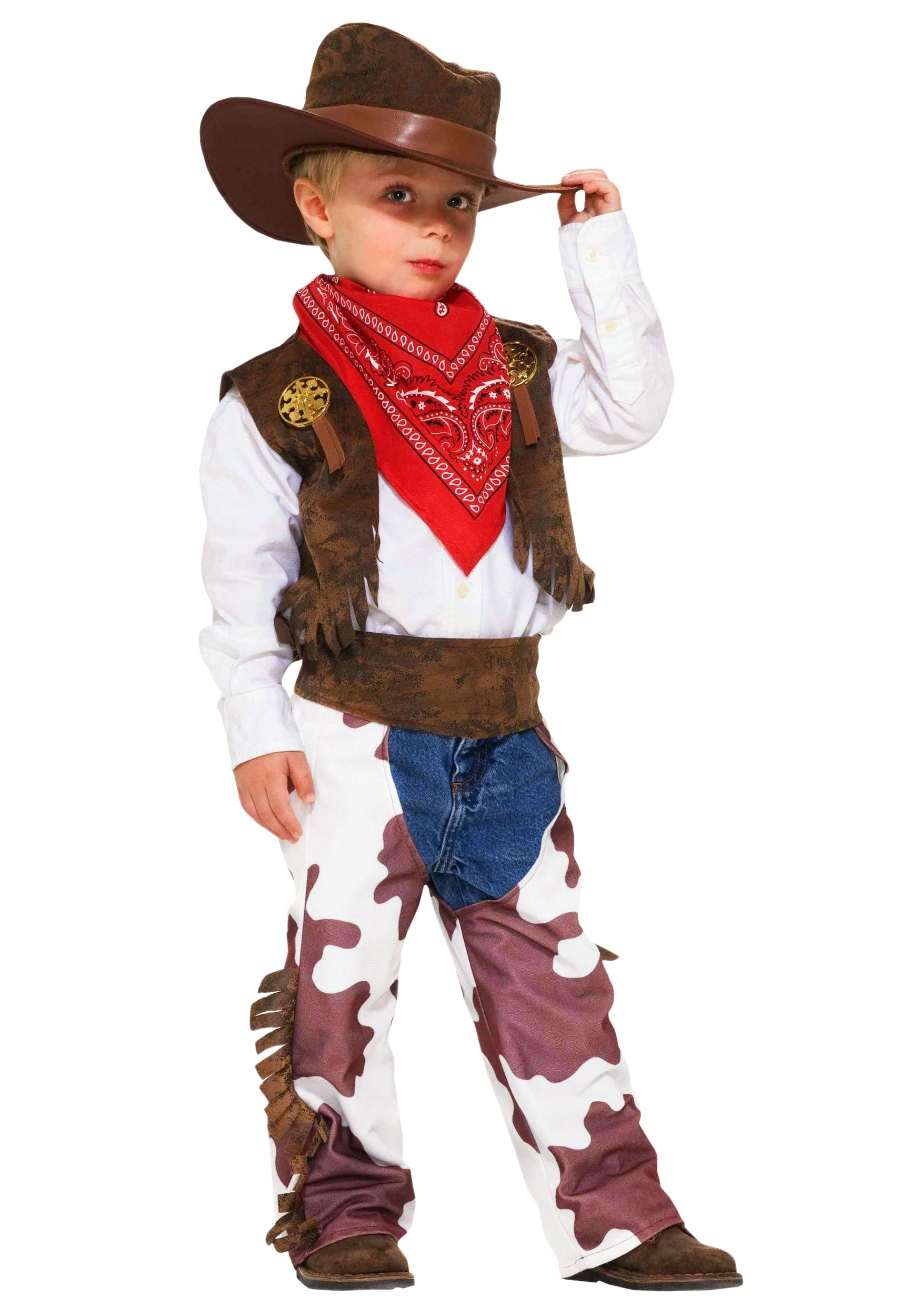 Cowboy Boys Costume for Toddlers | Toddler Western Halloween Costume