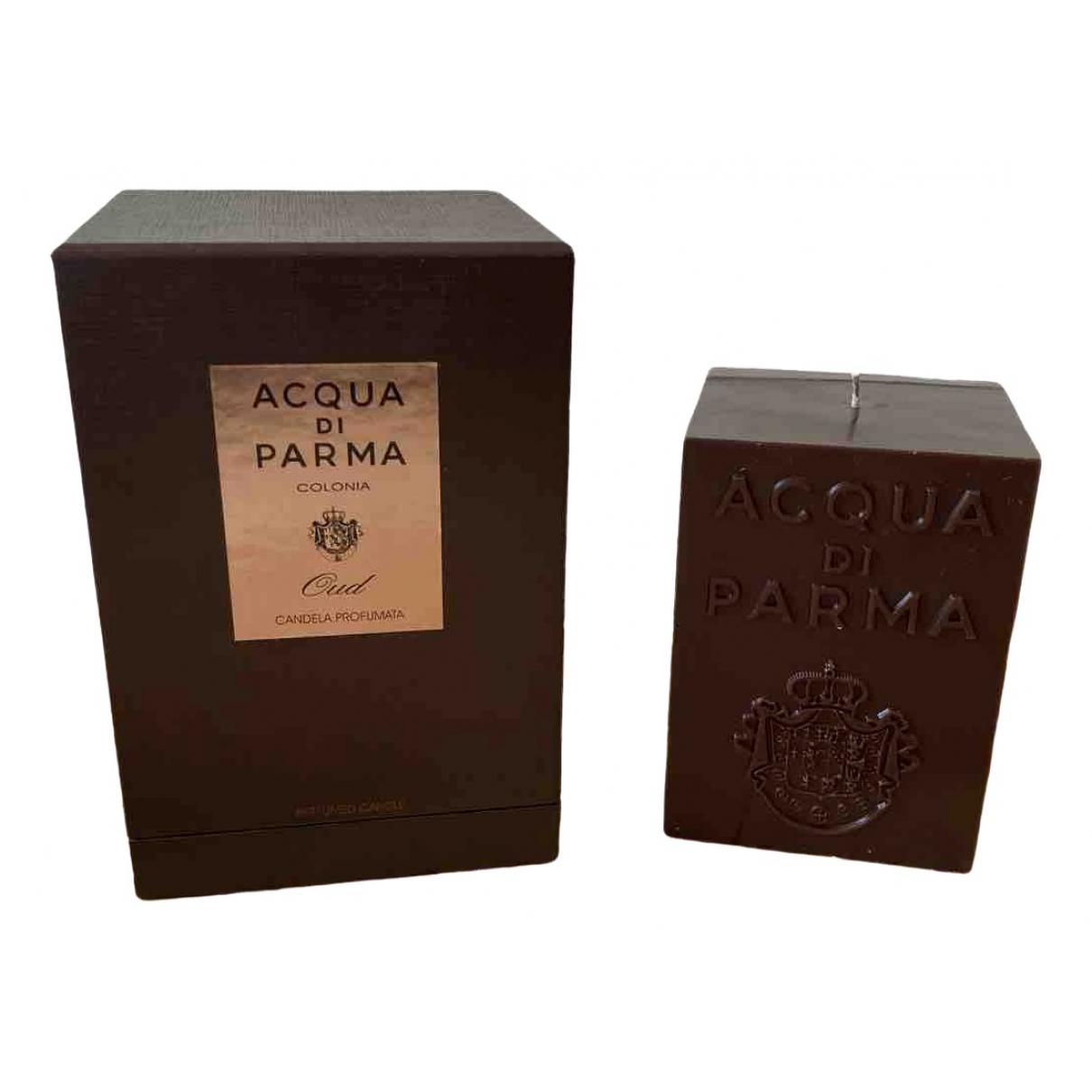 Acqua Di Parma \N Accessoires und Dekoration in  Braun Glas