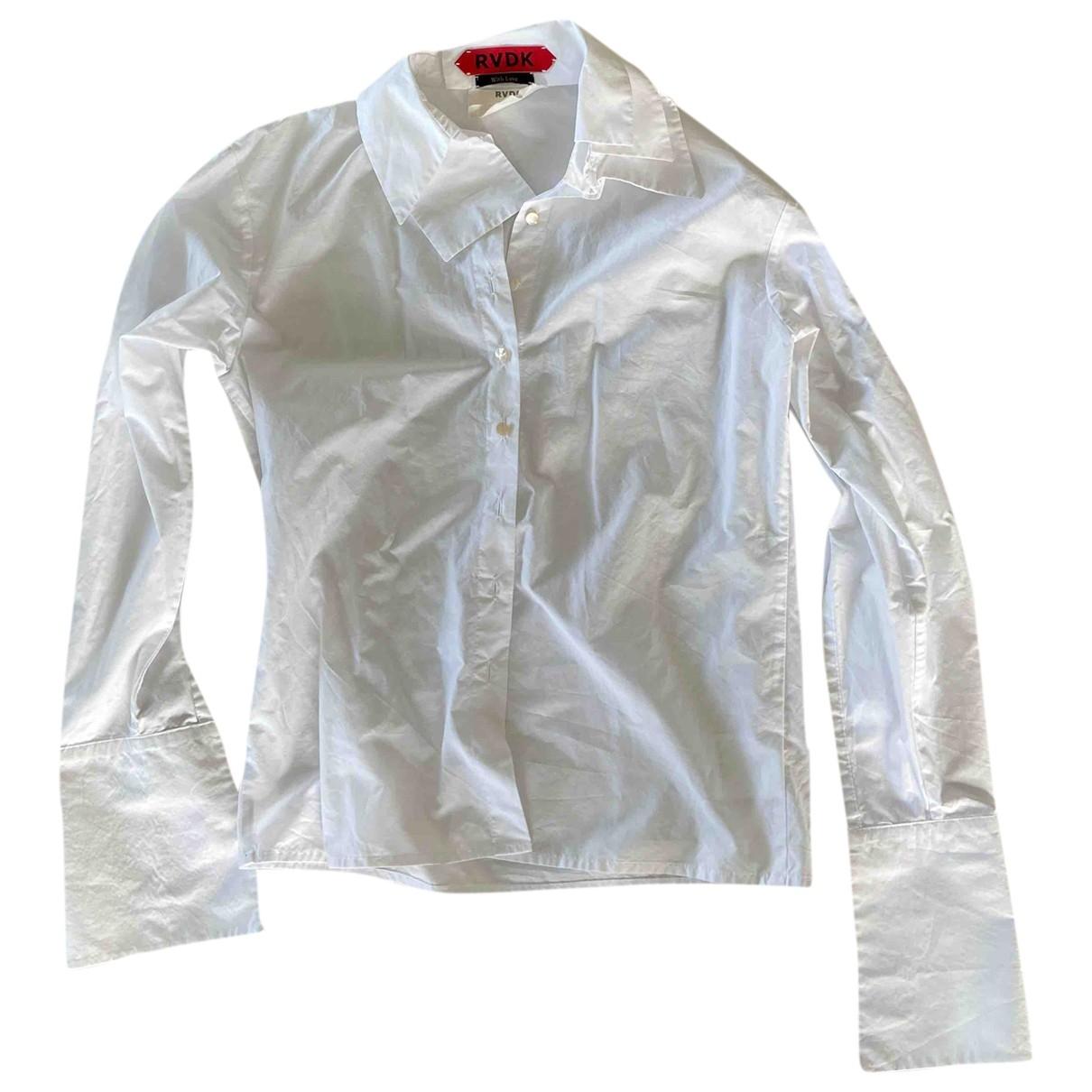 Rvdk - Top   pour femme en coton - blanc