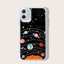 Planet Print iPhone Case