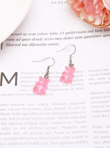 Bear Drop Earrings