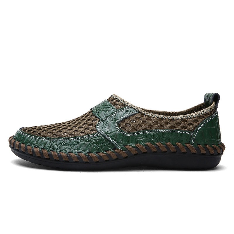 Ericdress Mesh Hollow Slip-On Men's Shoes