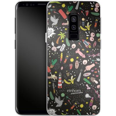 Samsung Galaxy S9 Plus Silikon Handyhuelle - Penisgegenstaende - by einhorn von Einhorn
