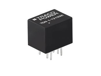 TRACOPOWER TDN 1WI 1W Isolated DC-DC Converter Through Hole, Voltage in 18 → 75 V dc, Voltage out 5V dc