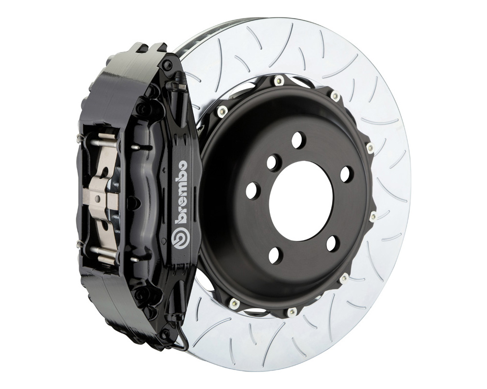 Brembo GT 355x32 2-Piece 4 Piston Black Slotted Type-3 Front Big Brake Kit