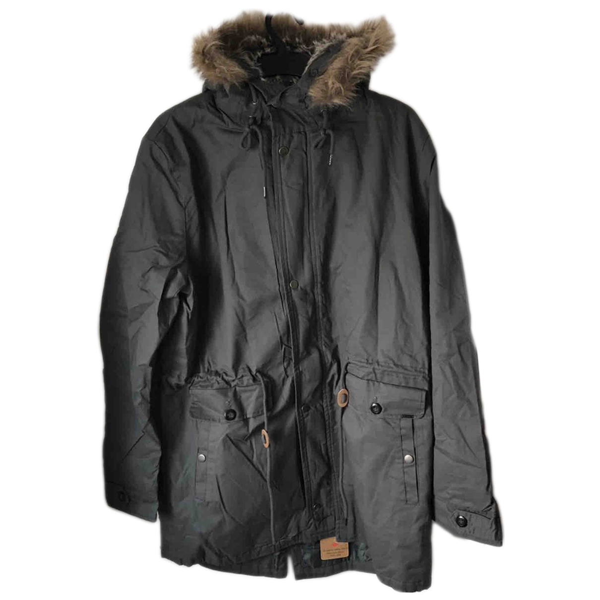 Lee N Khaki Cotton coat  for Men XXL International
