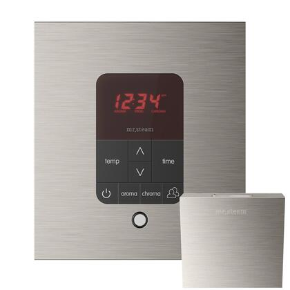 MSITPLUSSQ-BN iTempo Plus Square Steam Shower Control in Brushed