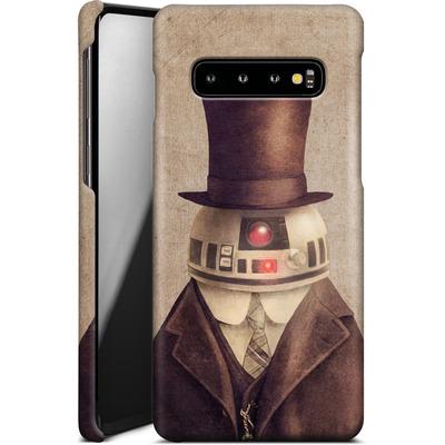 Samsung Galaxy S10 Smartphone Huelle - Duke R2 von Terry Fan
