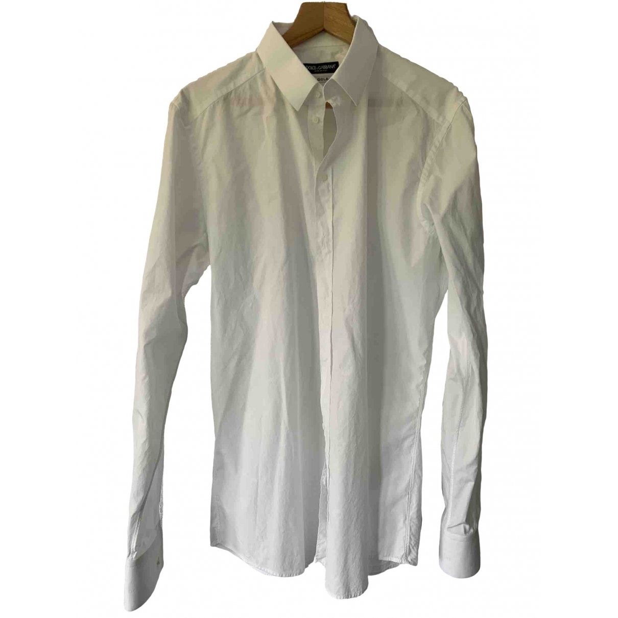 Dolce & Gabbana - Chemises   pour homme en coton - blanc