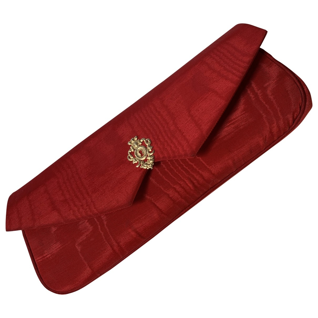 Rochas - Pochette   pour femme en soie - rouge
