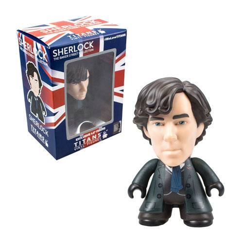 Sherlock Titans Sherlock 4 1/2-Inch Vinyl Mini-Figure