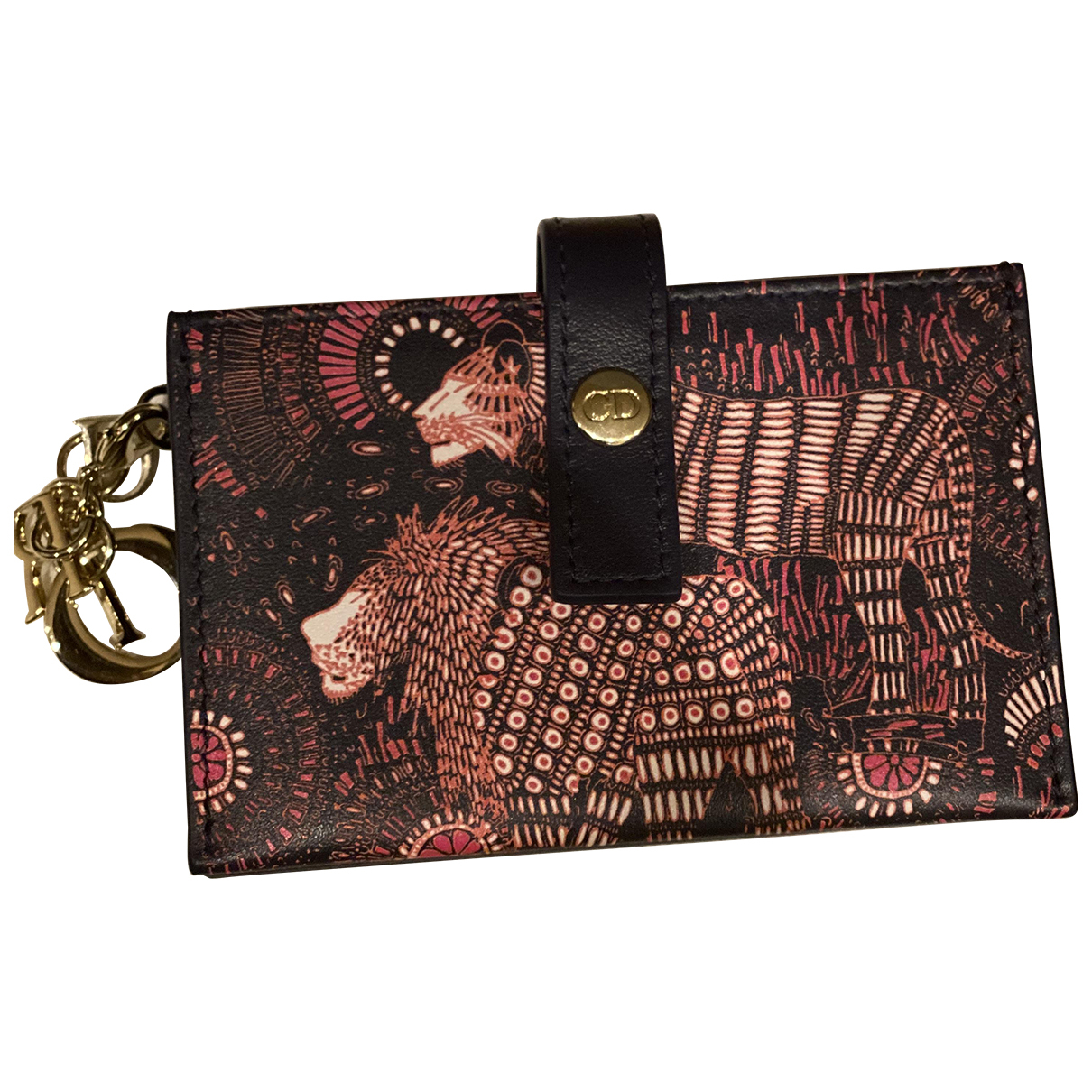 Dior - Portefeuille Diorissimo pour femme en cuir - multicolore
