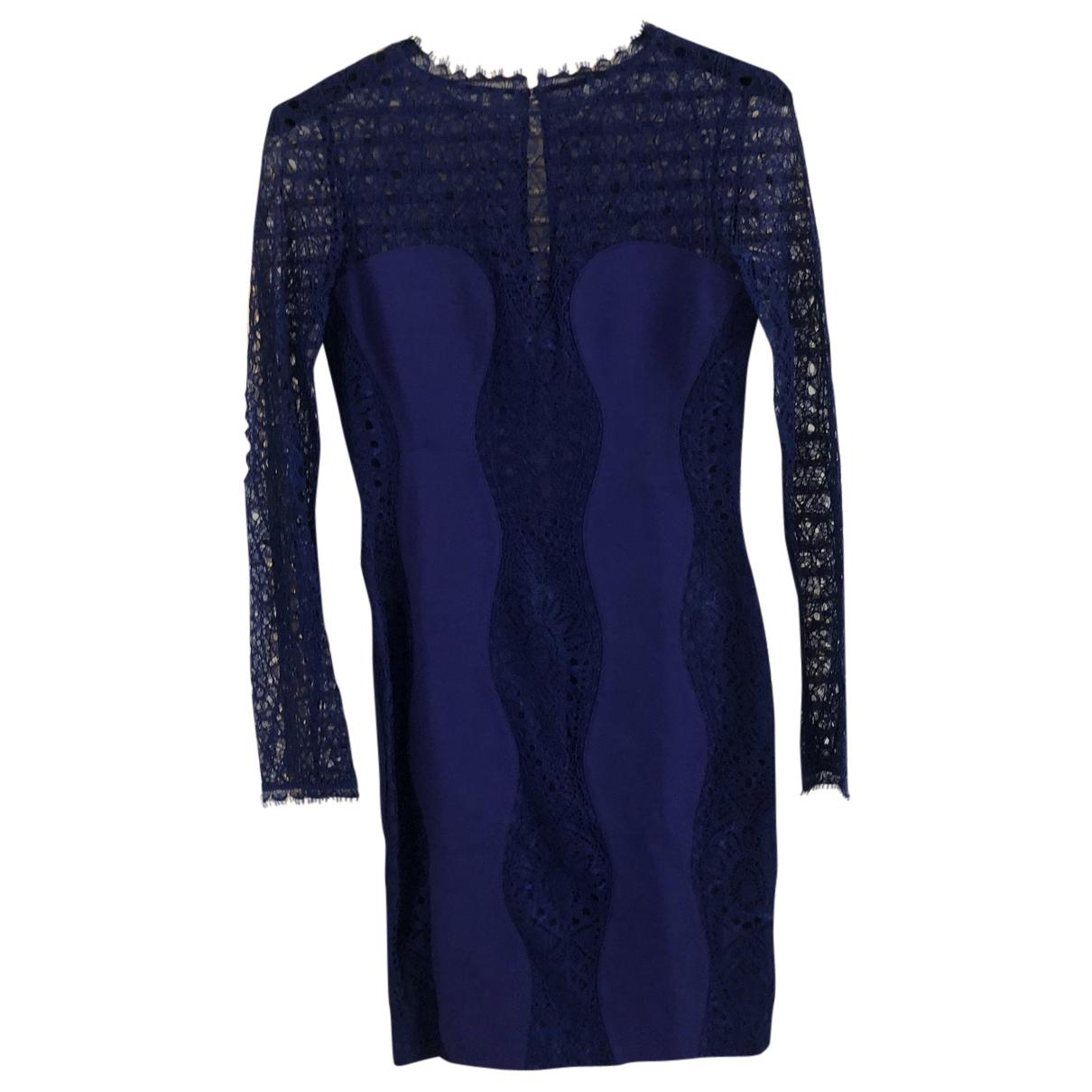 Emilio Pucci \N Kleid in  Blau Spitze
