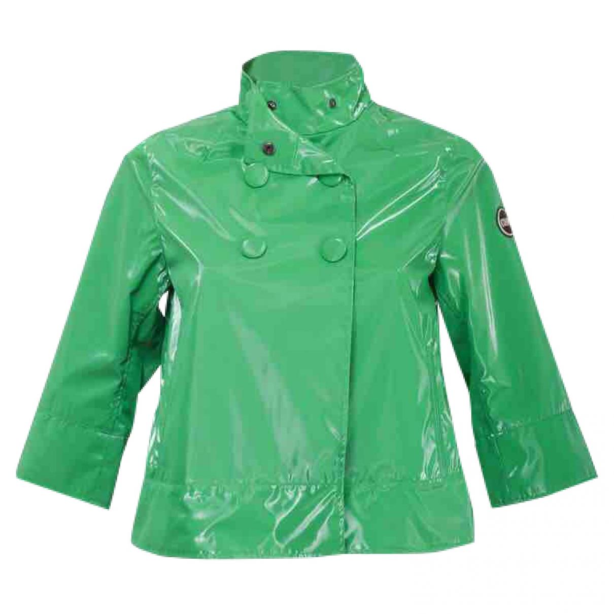 Colmar \N Trench in  Gruen Polyester