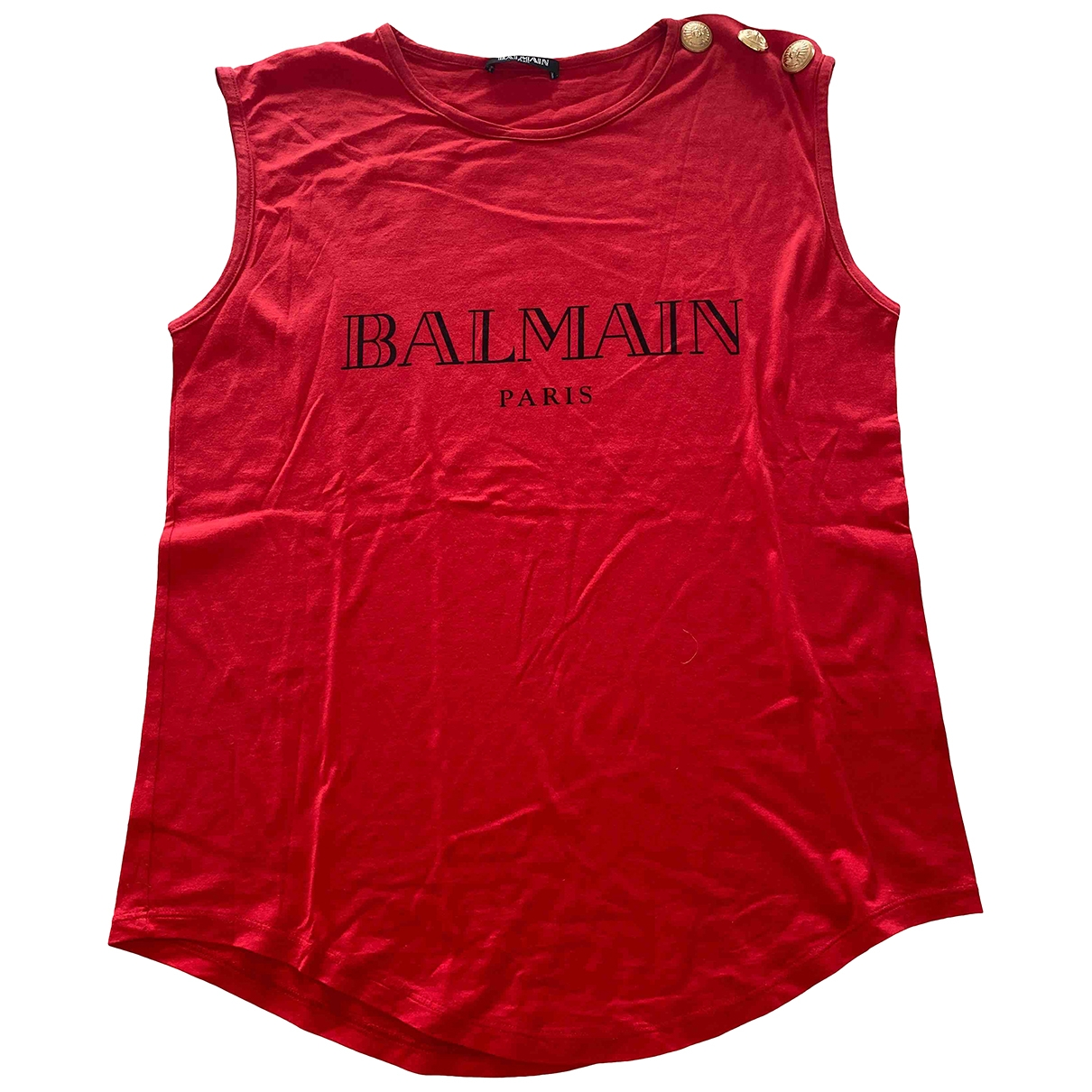 Camiseta sin mangas Balmain