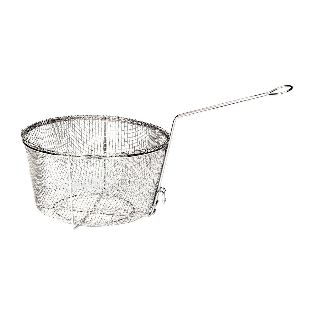 Bayou Classic 0125 Nickel Plated Fry Basket, 11
