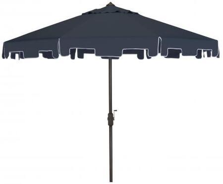 PAT8000A Uv Resistant Zimmerman 9 Ft Crank Market Push Button Tilt Umbrella With Flap in