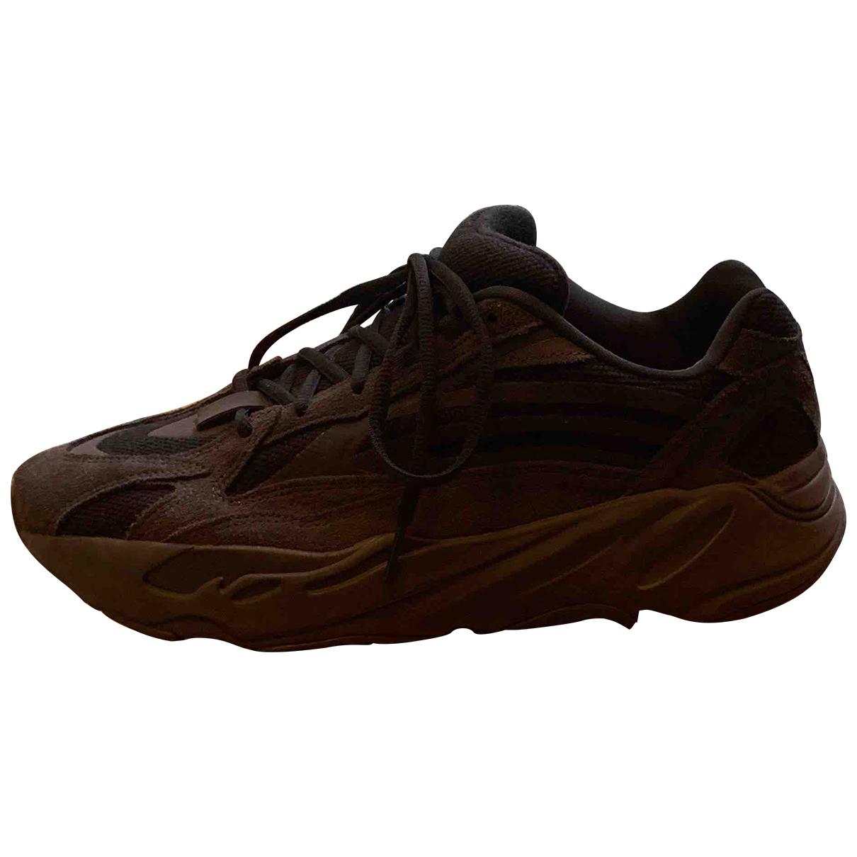 Yeezy X Adidas - Baskets Boost 700 V2 pour homme en toile - noir