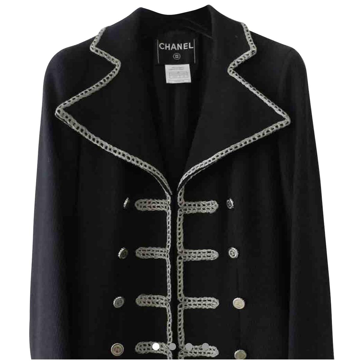 Chanel \N Black Cotton jacket for Women 8 UK