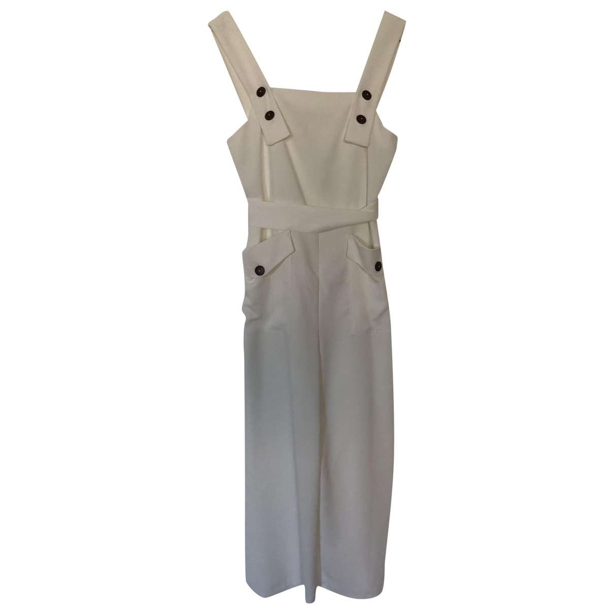 tophop \N White jumpsuit for Women 8 UK