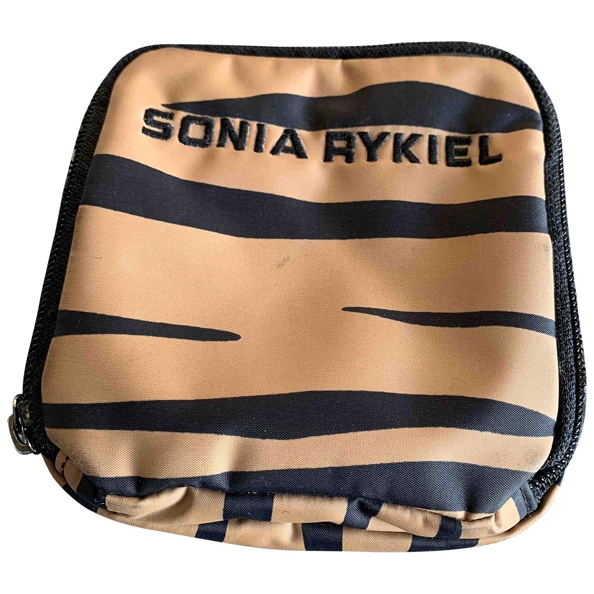 Sonia Rykiel - Petite maroquinerie   pour femme en toile - beige