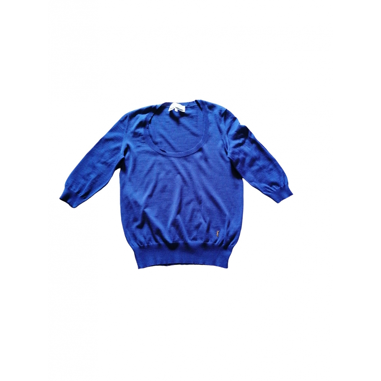 Yves Saint Laurent \N Purple Wool  top for Women L International