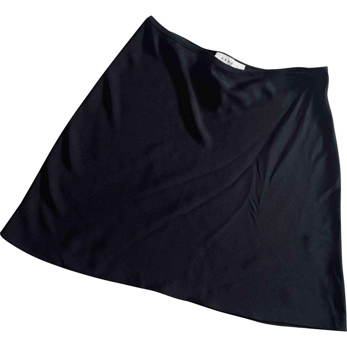 Sandro \N Black skirt for Women 3 0-5