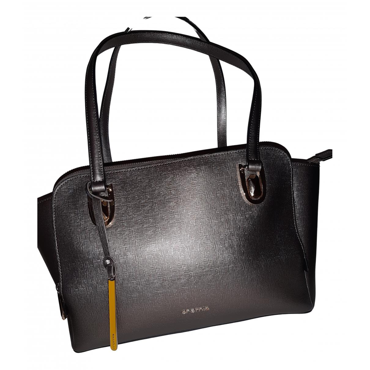 Cromia N Gold Leather handbag for Women N