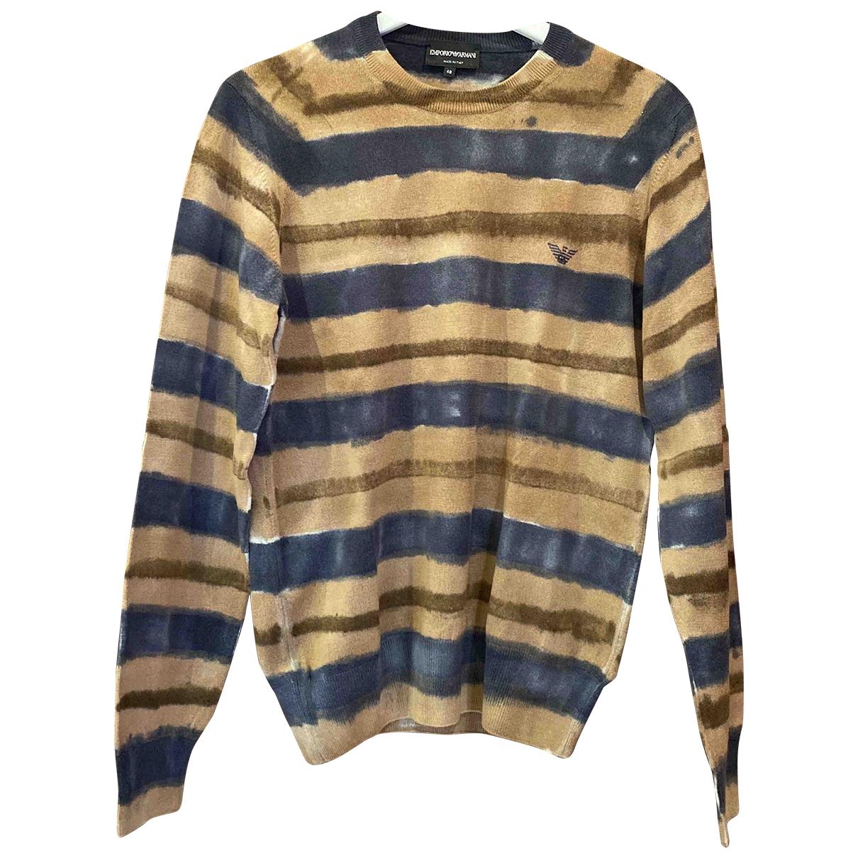 Emporio Armani \N Multicolour Cotton Knitwear & Sweatshirts for Men 48 IT