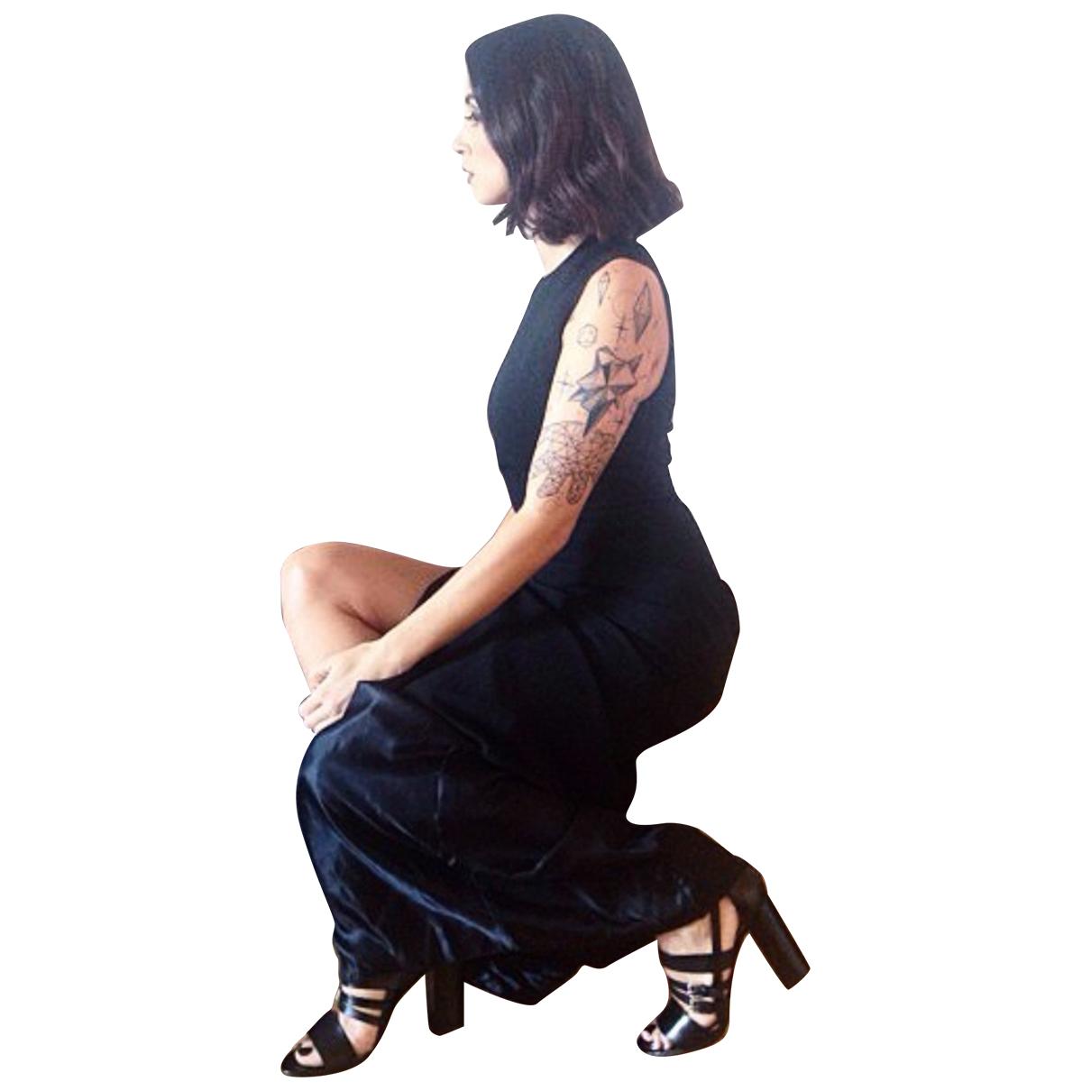 Acne Studios - Robe   pour femme - noir