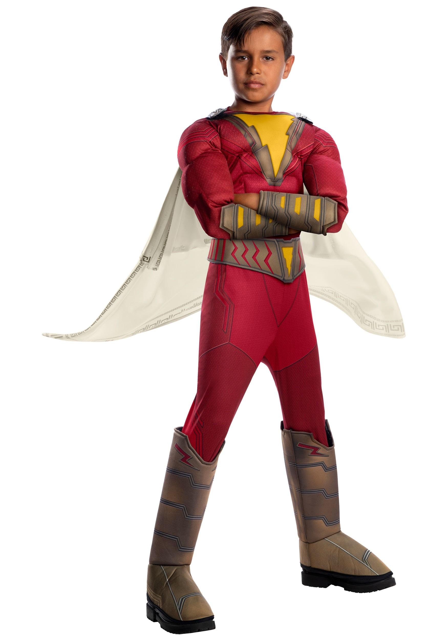 Shazam! Deluxe Costume for Kids