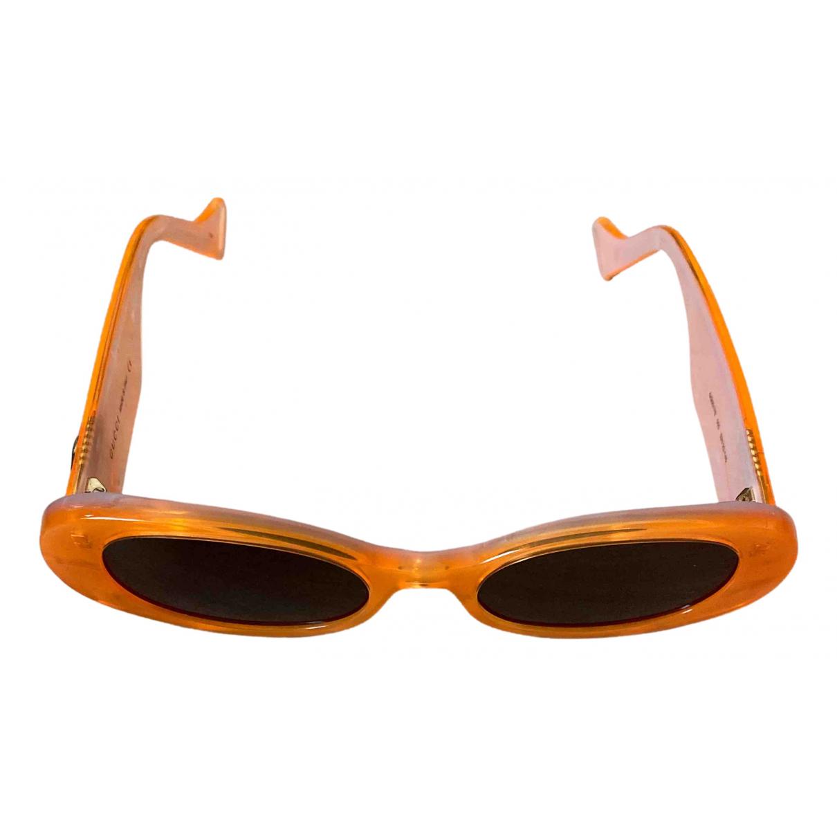 Gucci - Lunettes   pour femme - orange