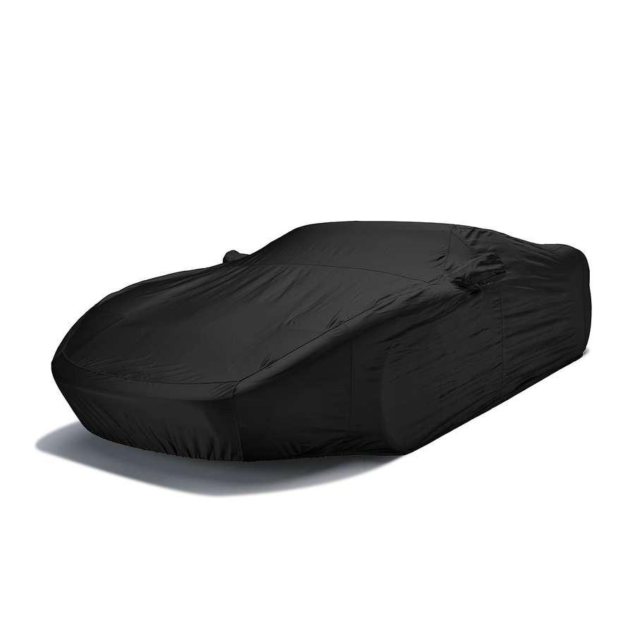 Covercraft FS17953F5 Fleeced Satin Custom Car Cover Black Chevrolet Spark 2014-2016