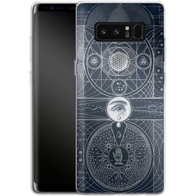 Samsung Galaxy Note 8 Silikon Handyhuelle - Eternal Universe von Daniel Martin Diaz