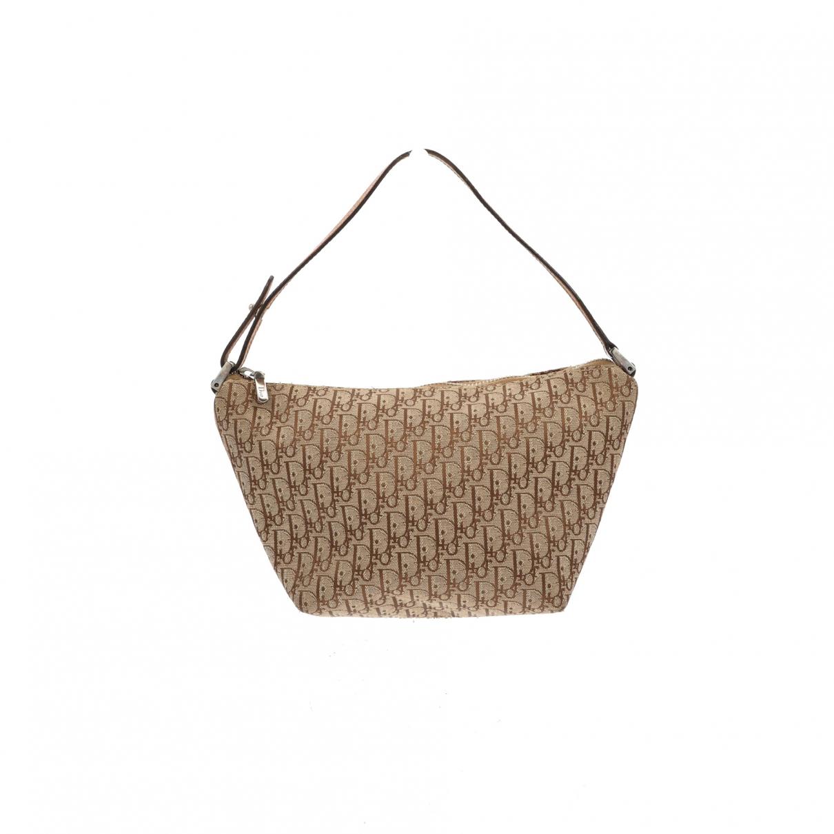 Christian Dior \N Handtasche in  Beige Leinen