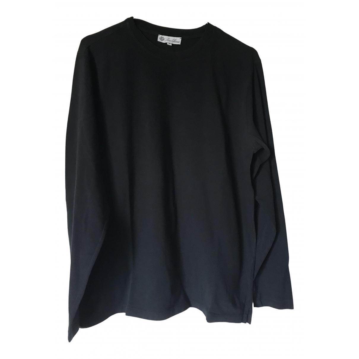 Loro Piana N Black Cotton Knitwear & Sweatshirts for Men S International