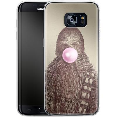 Samsung Galaxy S7 Edge Silikon Handyhuelle - Big Chew von Eric Fan