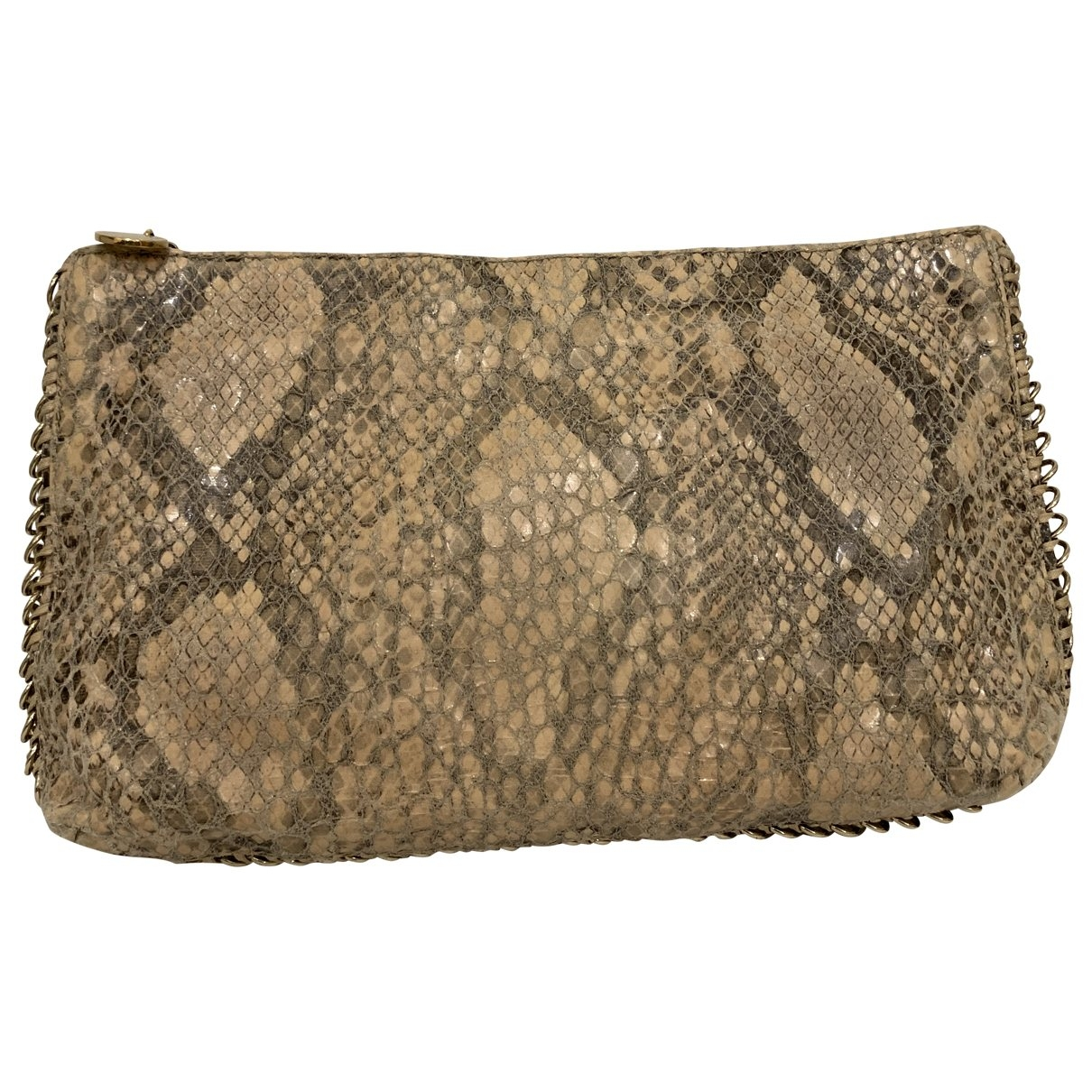 Stella Mccartney \N Beige Cloth Clutch bag for Women \N