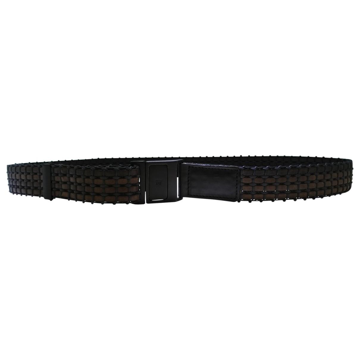 Issey Miyake \N Brown Leather belt for Men 90 cm