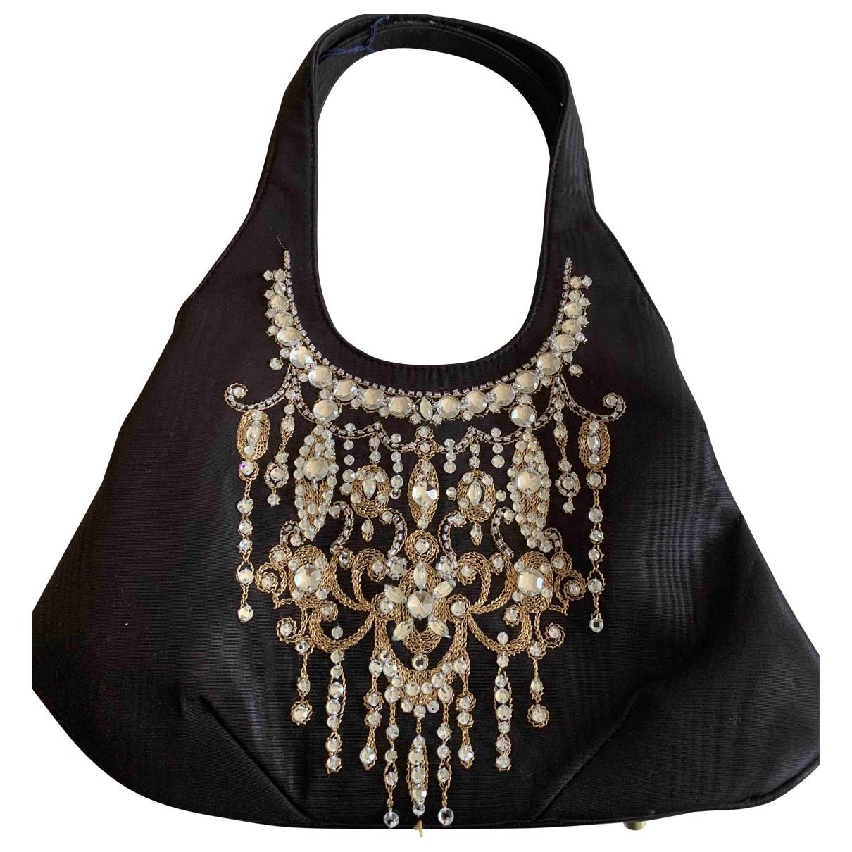 Lulu Guinness \N Handtasche in  Schwarz Polyester