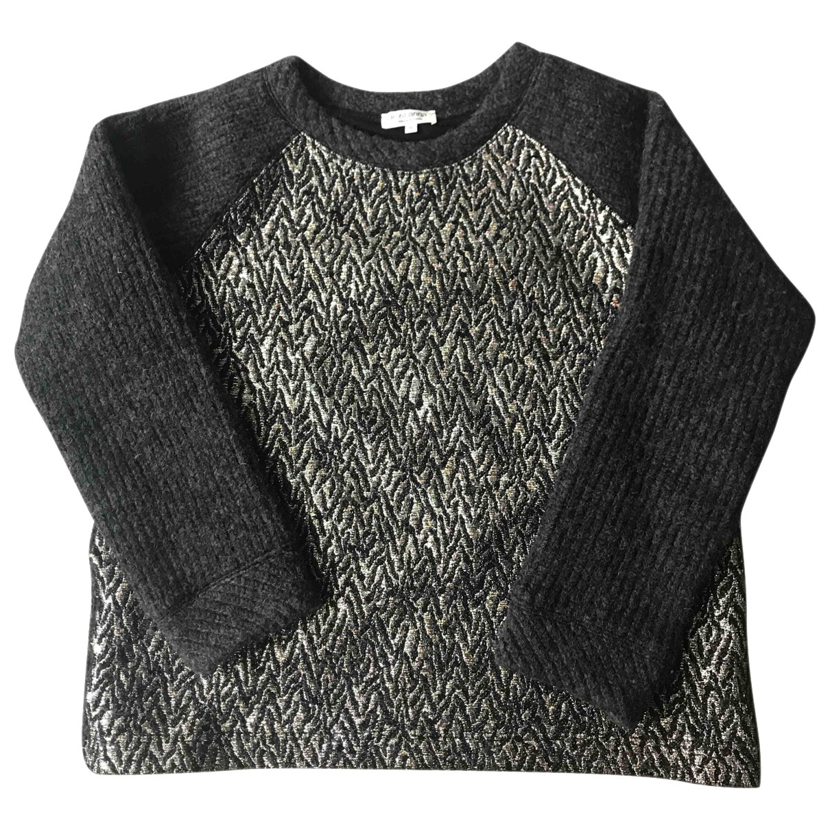 Roseanna \N Pullover in  Grau Wolle