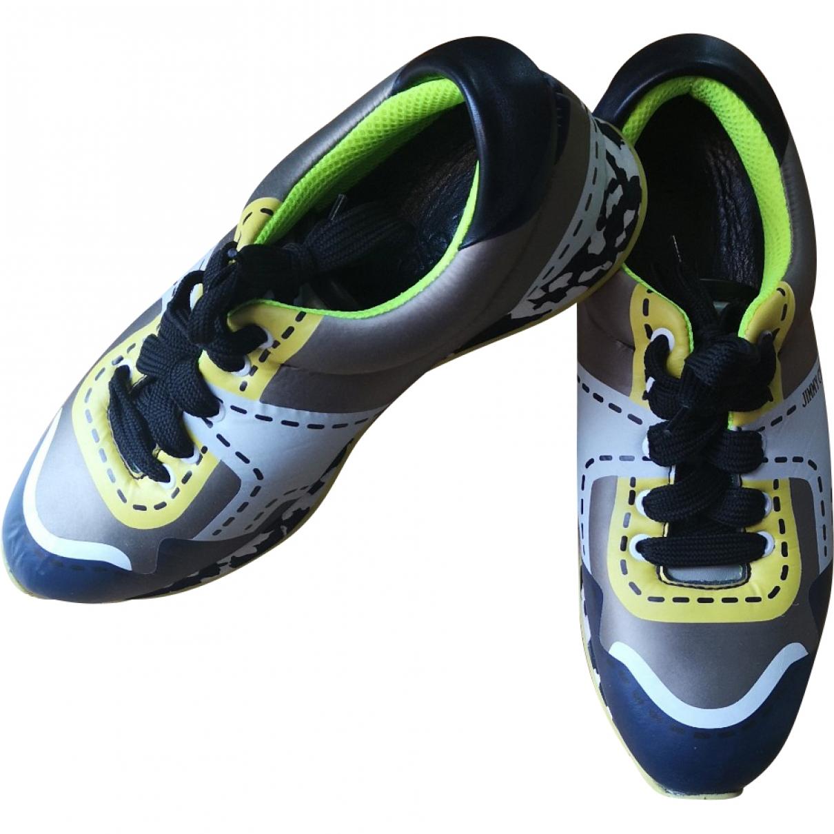 Jimmy Choo \N Sneakers in  Bunt Leder