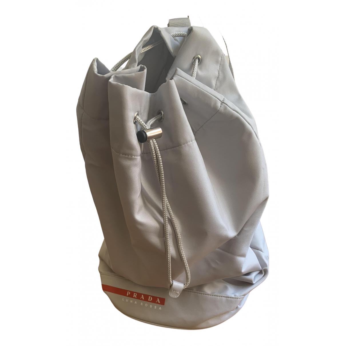 Prada \N Grey bag for Men \N