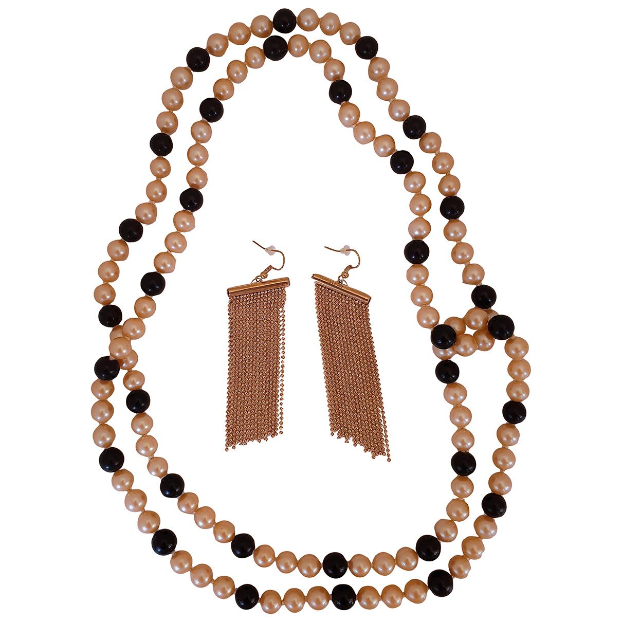 Conjunto Art Deco de Perlas Non Signe / Unsigned